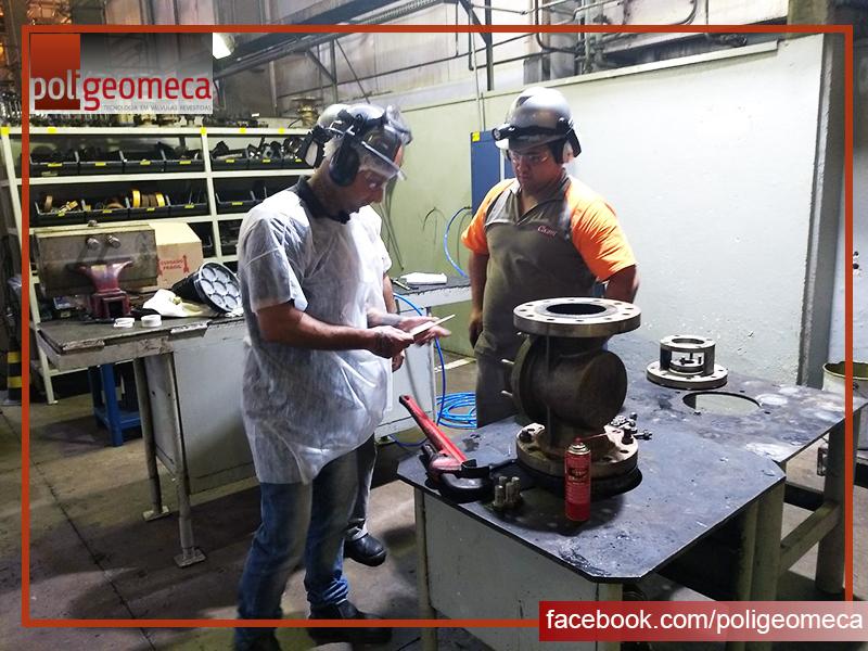 Treinamento de Manutenção em Válvulas Tipo Macho